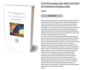 Welcome to our new system dynamics book! | Harald Ulrik Sverdrup